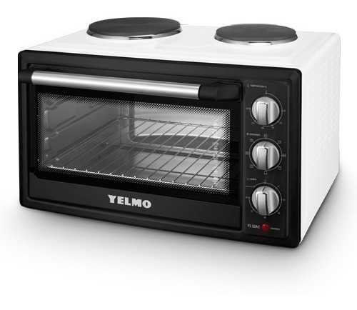horno electrico yelmo 52 lts doble anafe conveccion 2000w