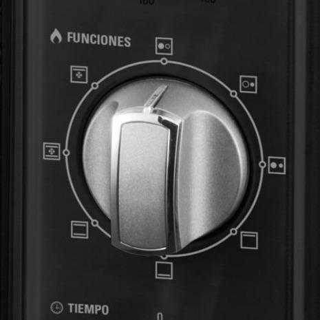 horno eléctrico yelmo doble anafe gtía nuevo 40 lts 6 cuotas