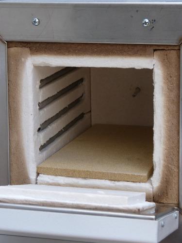 horno esmalte en metal y tratamiento en cuchillos indef hte