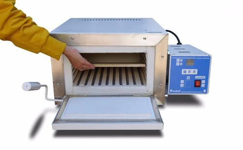 horno esmalte en metal y tratamiento en cuchillos indef hte1