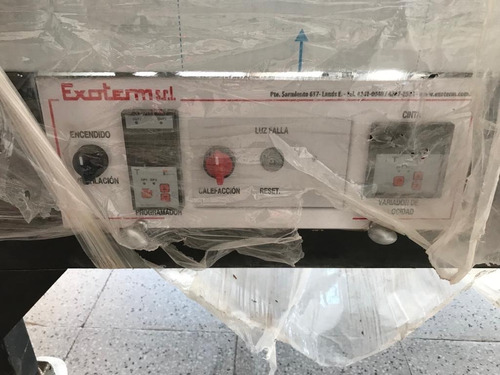 horno exoterm a cinta continuo ep85120