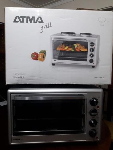 horno grill electrico atma hg5010e 50litros