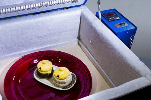 horno hv-4 para vitrofusion pintura calcos + libro de regalo