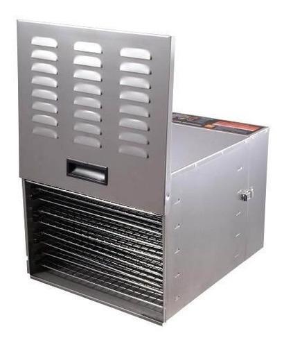 horno industrial deshidratador acero inoxidable 10 bandejas