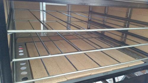 horno industrial pastelero panadero pizzero 12 moldes eg