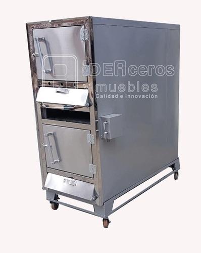 horno  lechonero de  dos  gavetas  a  gas  y  horno para  as