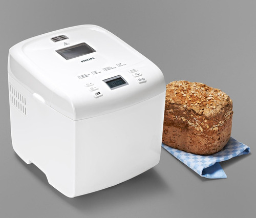 horno maquina hacer pan philips hd9015/30 1kg 12 programas