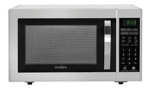 horno microondas 1.1pc mabe acero inoxidable hmm111jss