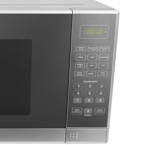 horno microondas 31 litros (1.1 pies³), abba color silver