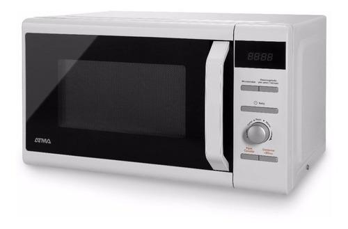 horno microondas atma 20l md1720n digital - aj hogar