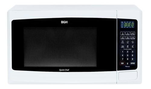 horno microondas con grill bgh b228db 28 lts 900 w