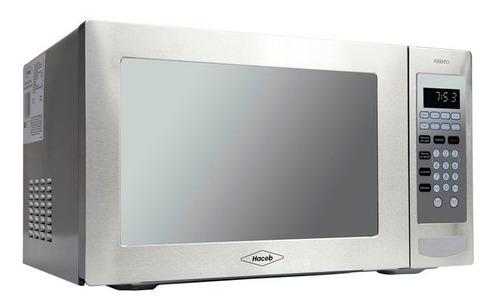 horno microondas inox con grill y manija 1.1 (31 litros)
