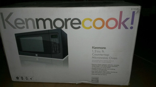 horno microondas  kenmore nuevo de 31 litros 1550 w