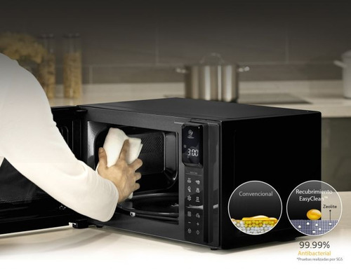 horno microondas lg smart inverter  lt 0,90 4 en 1