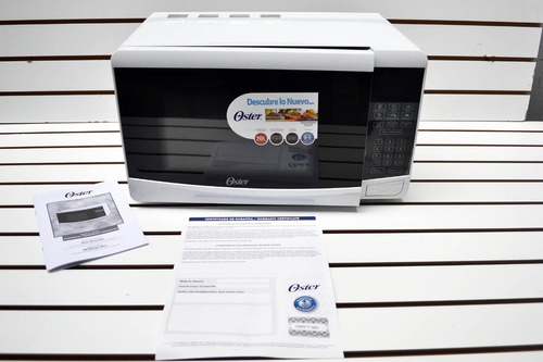 horno microondas marca oster  nuevo en caja