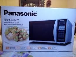 horno microondas panasonic 28 litros 0.9 cft nuevo 800watts