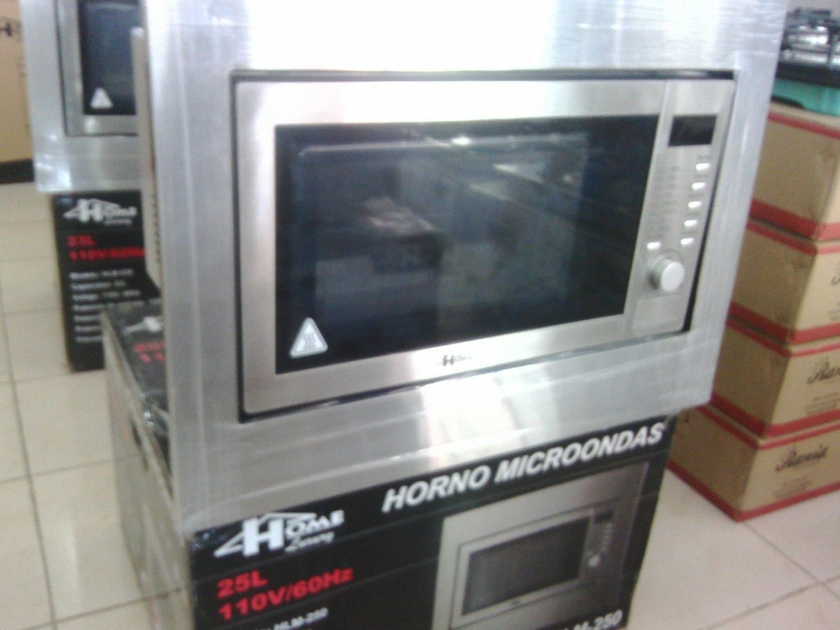 Horno microondas para empotrar marca home luxury bs en mercado libre - Microondas de empotrar ...