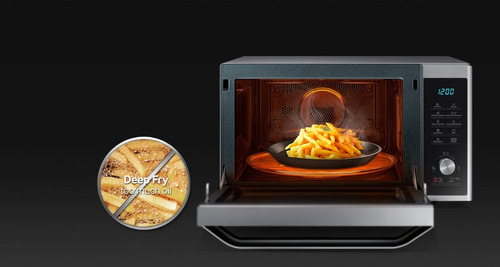 horno microondas samsung smart convección grill 32 litros