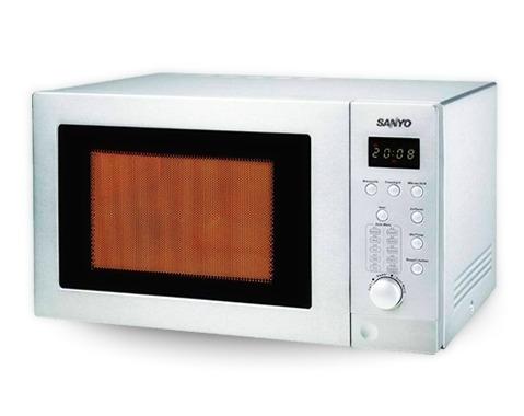 horno microondas sanyo 28 lts digital c/grill  con gtia