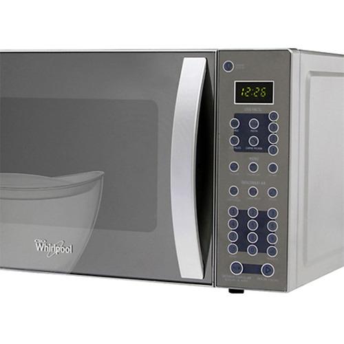 horno microondas whirlpool wms-07zdhs 0.7 pies cúbicos