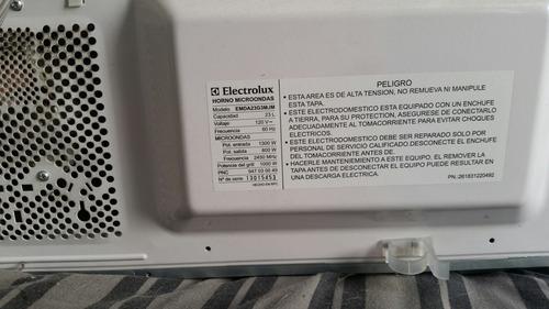 horno mircroondas electrolux dorador usado ligero daño