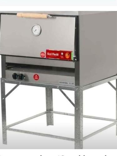 horno panadero 12 moldes, sol real ac/inox refractario