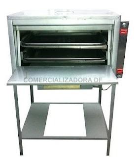 horno para 2 charolas de pan