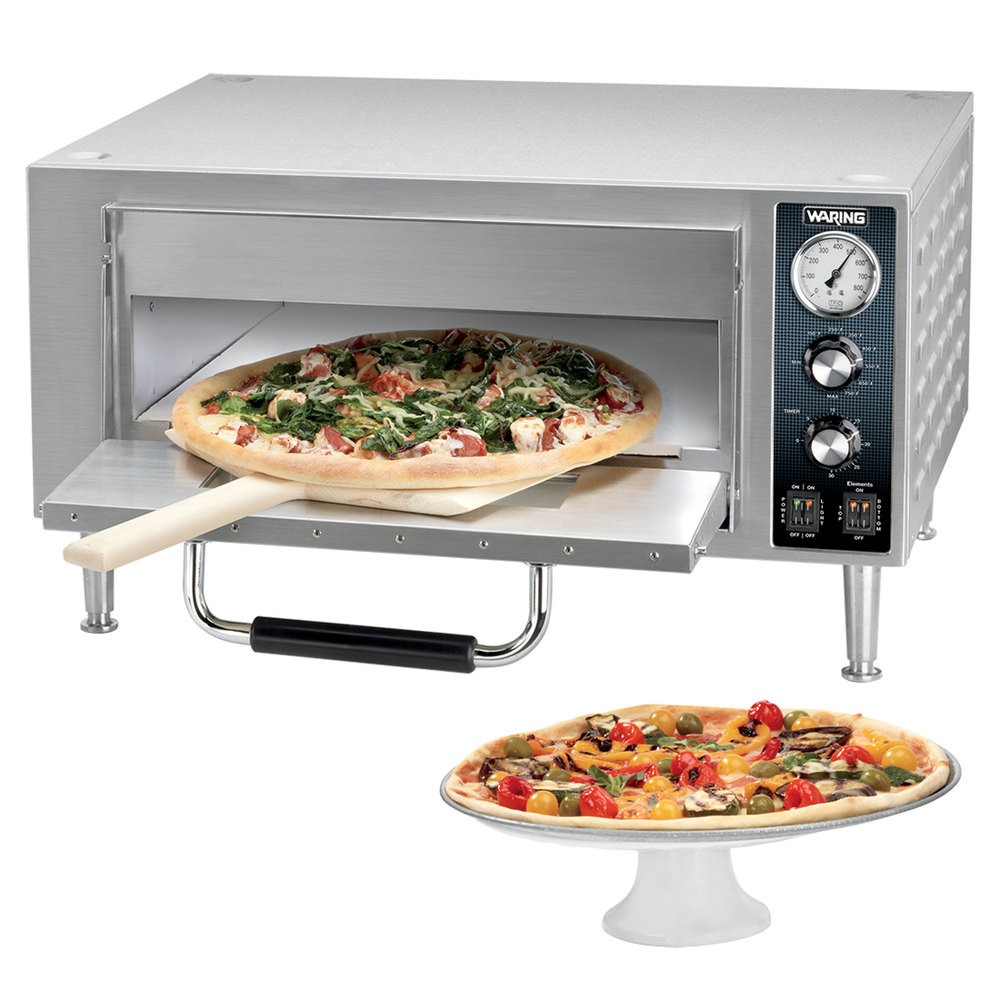 Horno para pizza de 18 de mostrador electrico 1800w waring for Estufas industriales usadas bogota