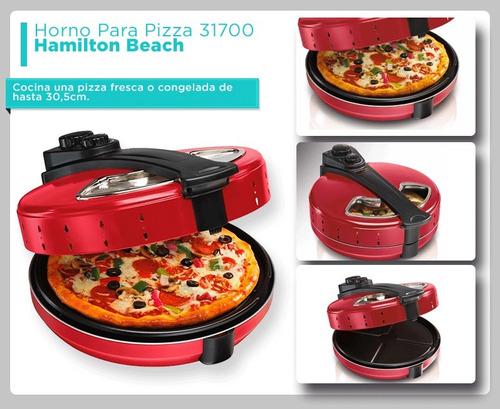 horno para pizza hamilton beach 31700 entrega inmediata!