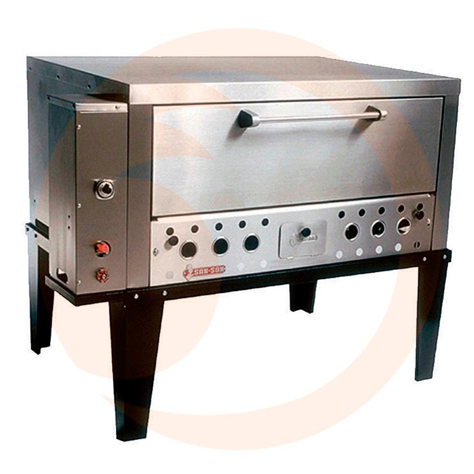 Horno para pizzas industrial de acero inoxidable zprz for Horno industrial