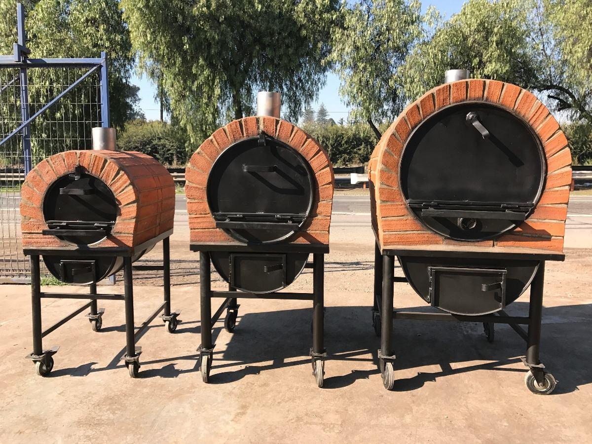 Horno peque o 60 litros a le a revestimiento ladrillo for Hornos y encimeras baratos
