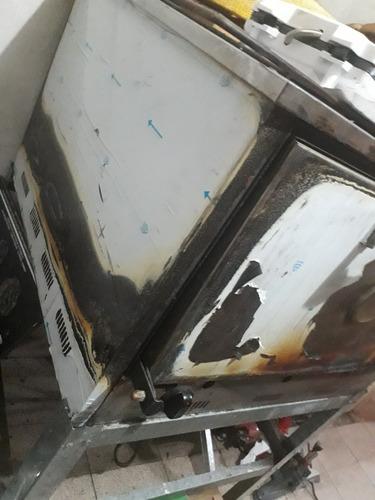 horno pizzero 12 moldes