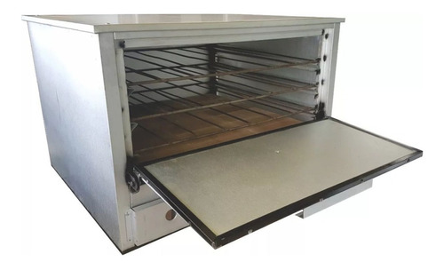 horno pizzero 12 moldes + freidora 1 canasto 18 industrial