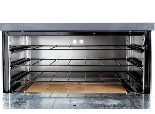 horno pizzero 12 moldes gauchito acero inox sol real cuotas
