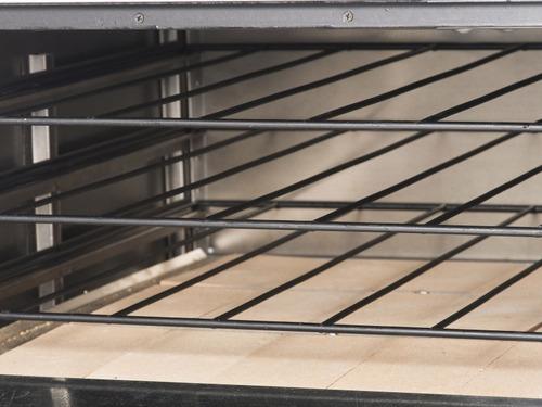 horno pizzero 12 moldes sol real acero inoxidable con base