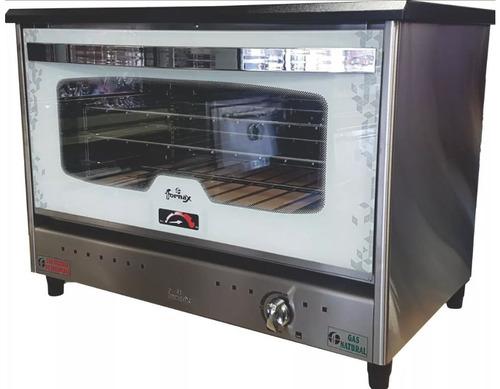 horno pizzero 6 moldes fornax anata blanco visor acero