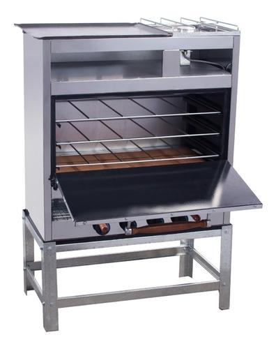 horno pizzero 6 moldes multiple con anafe