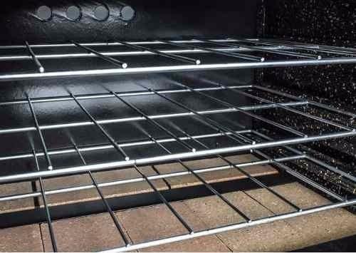 horno pizzero depaolo 12 moldes acero inox con pie valv seg
