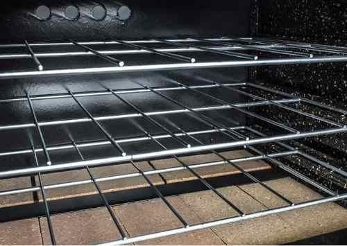 horno pizzero depaolo 18 moldes acero inoxidable y valvula