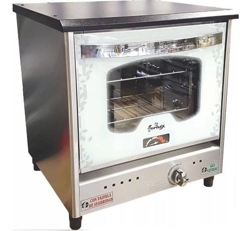 horno pizzero fornax blanco anata visor 3 moldes acero inox