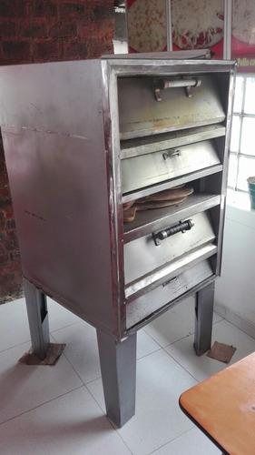 horno pizzero gratinador