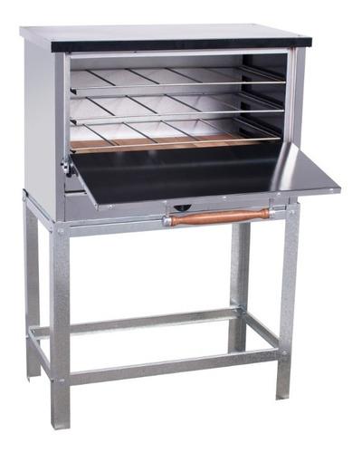 horno pizzero rotisero 12 moldes  acero inoxidable con val