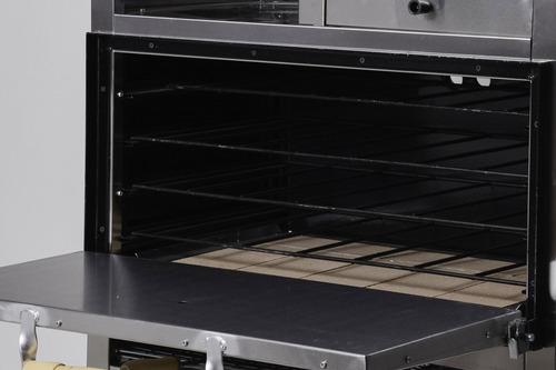 horno pizzero sol real 8 moldes multiple freidora tostador