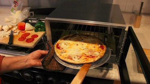 horno práctico - hornea sobre la estufa, no es eléctrico
