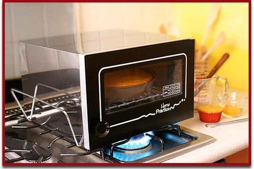 horno práctico paquete básico  - hornea sobre la estufa