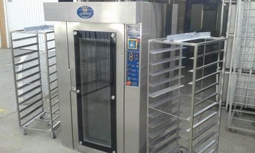 Horno rotatorio de12 latas industrias goer for Estufas industriales usadas bogota