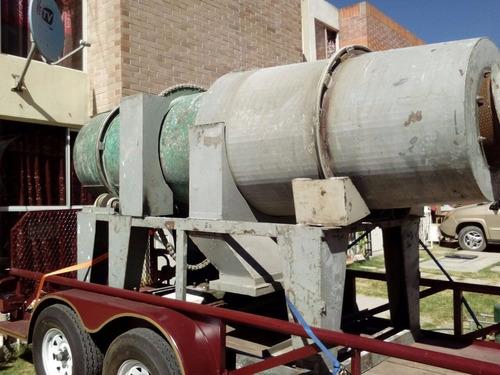 horno secador rotatorio 1 metro por 3