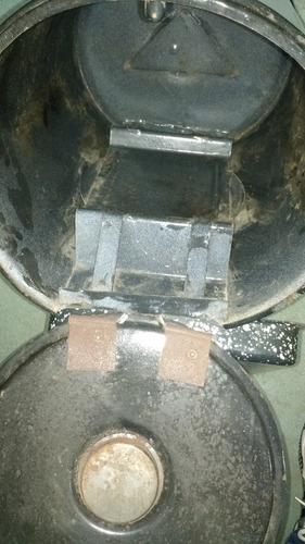 horno sobre hornalla