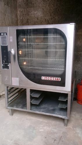 horno / steamer industrual blodgett modelo bx14g