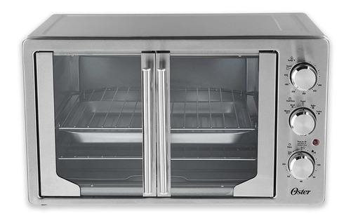 horno tostado oster® plateado puertas estilo francés 42 lts